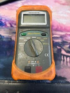 Blue Point Multimeter Eedm504b No Case Or Leads