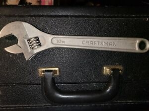 Craftsman 44604 10 Forged Alloy Adjustable Wrench