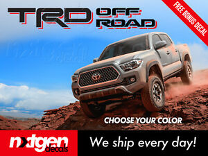Toyota Tacoma Tundra Trd Off Road Bed Side Graphics Vinyl Decals Stickers Set