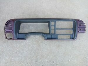 1995 1999 Chevrolet Silverado Gmc Speedo Dash Cluster Surround Trim Bezel Oem