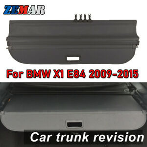 Car Rear Trunk Cargo Cover For Bmw X1 E84 2006 2015 Security Shield Accessories