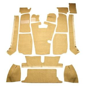 For Mg Mgb 68 80 Carpet Standard Replacement Cut Sewn Caramel Complete Carpet
