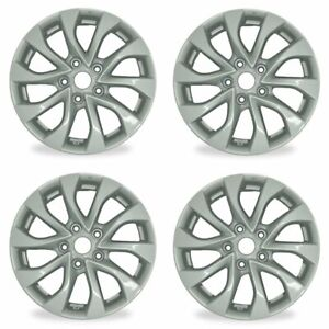 4pcs New 16 Silver Wheels For Nissan Sentra 16 19 Oem Quality Alloy Rim 62756