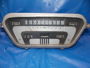 1953 1954 1955 Ford Pick Up Truck F100 F250 F350 Instrument Cluster 292