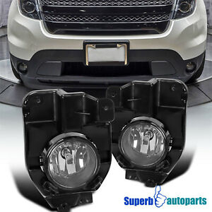 For 2011 2015 Ford Explorer Front Fog Bumper Lights W H11 Bulbs Switch