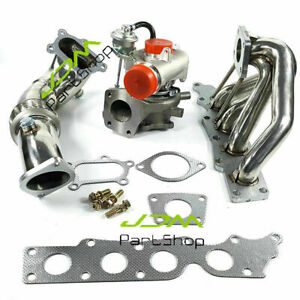 K0422 582 Turbo Exhaust Manifold Down Pipe For Mazda Speed 3 6 2 3l 07 13