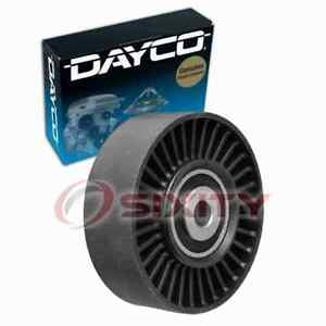 Dayco Drive Belt Idler Pulley For 2006 Bmw 325xi Engine Bearing Tension Ut
