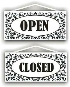 Mysigncraft Open Closed Double Sided Sign With Rope And Suction Cup By
