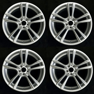 Set Of 4 20 Staggered Wheels For Bmw 5 series 7 series Oem Quality 71379 71380