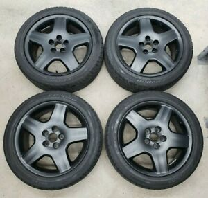 Set Of Four 18 Lexus Ls430 Oem 5 spoke Wheels 42611 50420 245 45r18 Tires