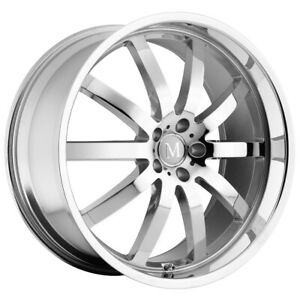 Mandrus Wilhelm 20x8 5 5x112 43mm Chrome Wheel Rim