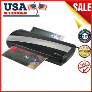A4 9 Width Photo Paper Hot Cold Thermal Laminator Machine Fast Laminating F6o3