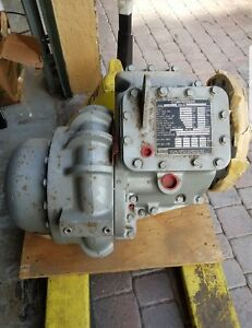 Atlas Copco Atomizing Air Compressor Scf 6 Ge P n 302a1537p001 New Surplus