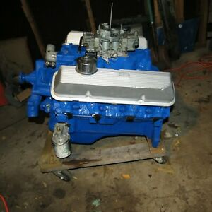 1969 1968 1970 Ford 428cj Cobra Jet Engine Complete
