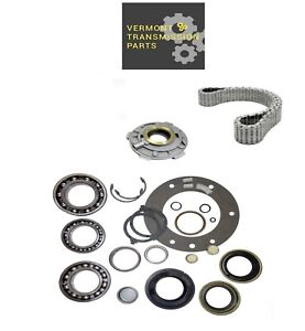 Ford Np273f Transfer Case Rebuild Kit W Bearings Gaskets Seals Chain And Pump