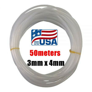 Us 50meters 3mm X 4mm Eco Solvent Ink Tube Tubing For Roland Mutoh