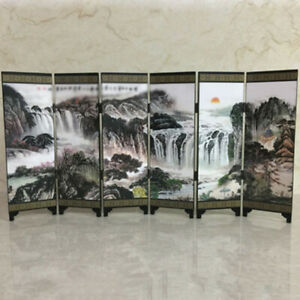 Chinese Freestanding Room Divider Wall Partition Separator Area Privacy Screen