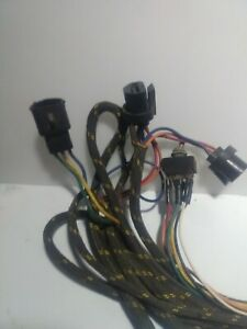 Fisher Or Western Snow Plow Headlight Wiring Harness