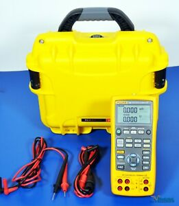 Fluke 726 Precision Multifunction Process Calibrator With Hart Nist Calibrated