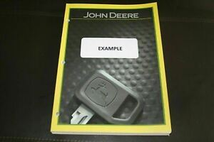 John Deere S770 Combine Parts Catalog Manual 2