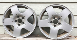 Vw Jetta Rims Wheels Set Of Two 2 Oem 15in X 6in