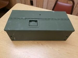 Nos Military Truck Trailer Tool Accessory Box