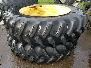 18 4r46 Set Of 2 Firestone Wheels And Tires