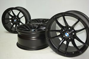 18 Bmw M3 M4 513m Factory Oem Black Wheels Rims M Sport Original