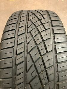 Used 255 55zr18 Continental Extremecontact Dws06 109w 7 5 32
