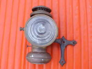 Brass Era Headlight With Bracket Pat June 8 1909 Mitchell