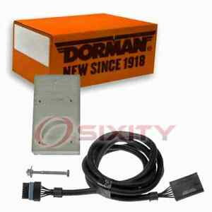 Dorman Fuel Injector Pump Driver Relocation Kit For 1994 1998 Chevrolet Pd