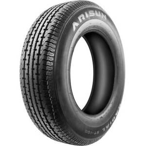 2 New Arisun Radial St 100 St 205 75r14 Load C 6 Ply Trailer Tires