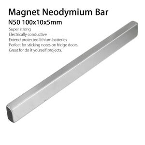N50 Long Cuboid Block Bar Super Strong Rare Earth Neodymium Magnet