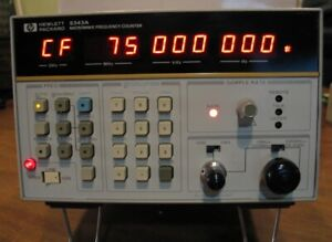 Hp Agilent Keysight 5343a Microwave Frequency Counter