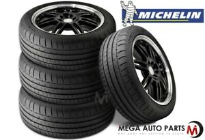 4 Michelin Pilot Super Sport 295 35r18 103y Performance Tires 30k Mile Warranty