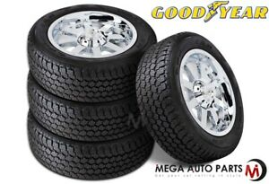 4 Goodyear Wrangler All Terrain Adventure With Kevlar 255 70r18 113t A t Tires