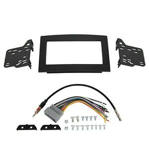For 06 07 08 09 10 Dodge Ram Car Stereo Radio Double Din Dash Panel Kit