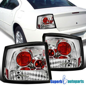 For 2005 2008 Dodge Charger R t Tail Lights Brake Lamp Replacement Pair