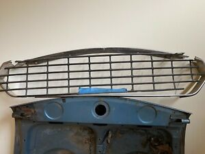 Fiat 124 Spider 2000 Complete Grille Chrome Grill Surround Upper Lower Grille