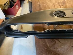 Fiat 124 Spider Black Dashboard Out Of My 1982 Fiat That I Have Decided To Part