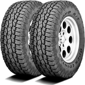 2 New Toyo Open Country A t Ii 255 70r18 112t At All Terrain Tires