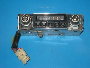 Nice Vintage 1980 S Gm Chevy Oem Delco Car Pickup Truck Am Radio Model 16005571