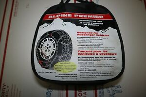 Alpine Premier Tire Chains Size 1540 Snow Chains Never Used