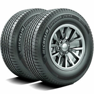 2 New Michelin Defender Ltx M s 275 60r20 115t A s All Season Tires