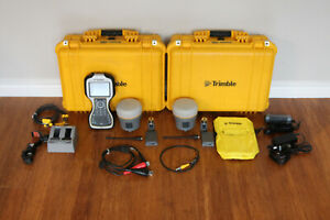 Trimble Dual R10 Gps Gnss Rtk Survey Receiver Setup W Tsc3 Access 2017 24