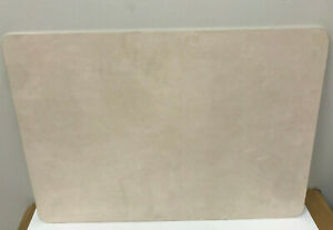 Pottery Barn Classic Leather Desk Blotter Ivory New