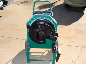 Greenlee 555 Conduit Pipe Bender W pvc Coated Shoe Group xxxcond