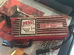 Msd 6a 6400 Ignition Box Multiple Spark Discharge Nhra Nascar Imsa Wissota
