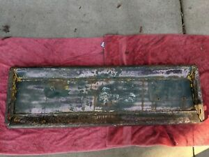 1940 1941 1942 1946 Chevy Gmc Pickup Truck Tailgate Original Patina Chevrolet