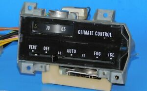 1969 1970 Cadillac Oem Automatic Climate Control Unit